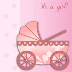 Newborn postcard