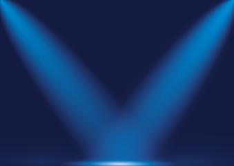 Sahne ışıkları, sahne, perde