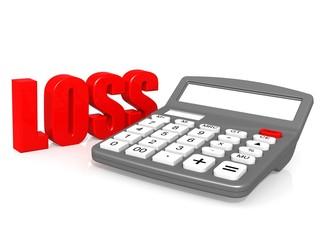 Loss with calculator