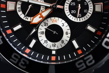 Watch face detail