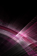 Abstract pink composition