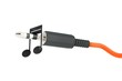 3d jack cable with musical note