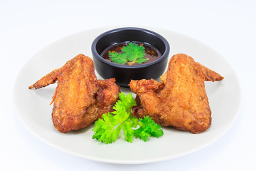 Batter-Fried Chicken Wings