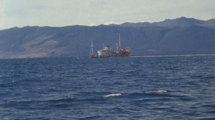 Antarctica wreck