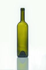 bottiglia vetro verde vuota