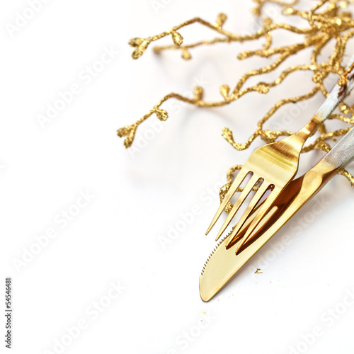 Festive Cutlery Set - 54546481