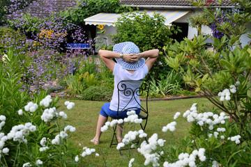 Erholsame Zeit im Garten
