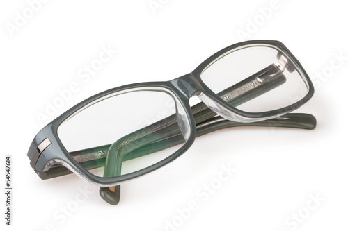 glasses folded
