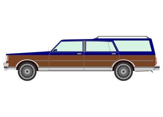 Retro estate car.