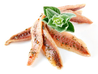 anchovy with herbs and spice