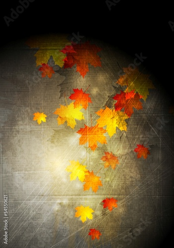 Abstract grunge autumn background