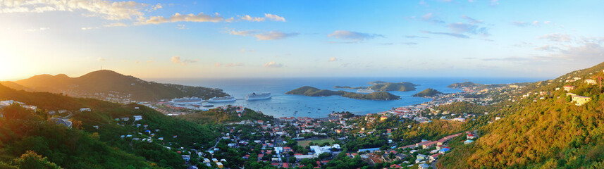 St Thomas sunrise