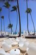 Beach Bar in Cancun, Mexico