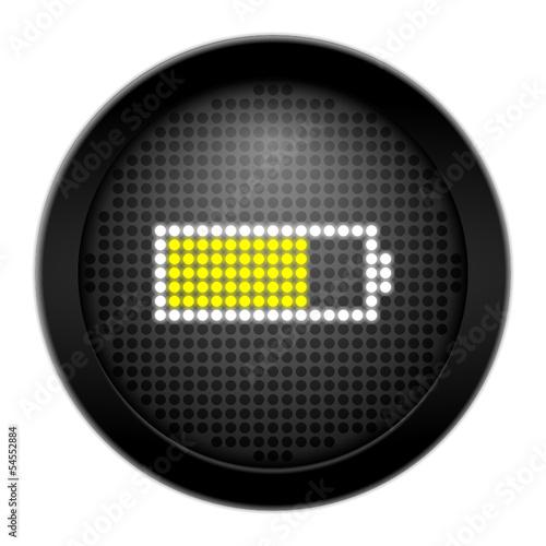 button led akku 75% I