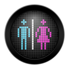 button led mann-frau I