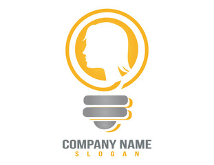 woman idea logo
