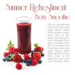 Summer Refreshment - Berry Smoothie
