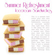 Summer Refreshment - Icecream Sandwiches