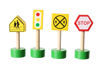 Toy Traffic Signs