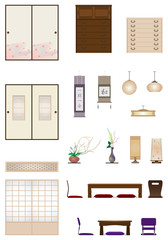 Japanese-style room / Furniture