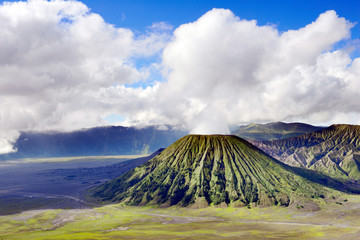 Bromo volcano in Indonesia