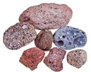 porous pumice stones