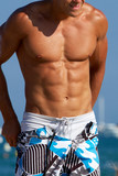 Sixpack - muscular male body