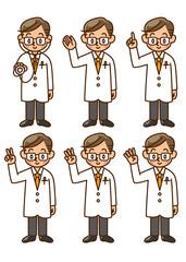 医者 素材 セット