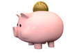 Pigg Bank Time Is Money Saving