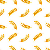 Wheat ears pattern