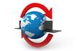 global Data transferring concept