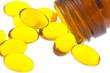capsules d'huile de poisson