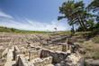 Obrazy na płótnie, fototapety, zdjęcia, fotoobrazy drukowane : ancient ruins of kamiros in Rhodes, Greece