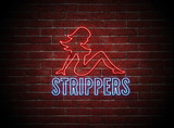 Sexy Stripper Neon Sign