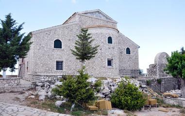 Monastery - Pantokrator, Corfu Island, Greece