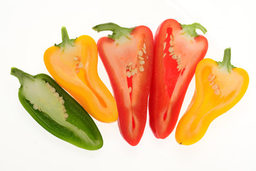 Colorful Capsicum, Pepper