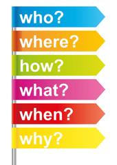 Pfeile Fragen