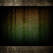 rusty metal mesh background