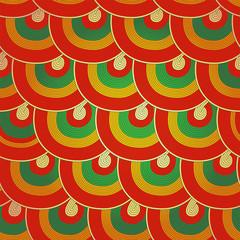 Seamless Japanese pattern, Colorful decorative seamless