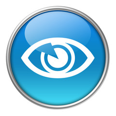 Bottone vetro occhio
