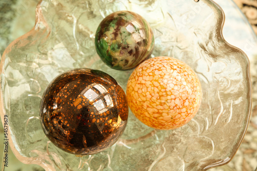 Decorative Christmas Spheres.