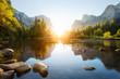 canvas print picture - Yosemite valley