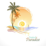 Sea Graphics Series -  Vacations in Bahamas