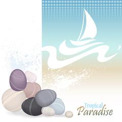 Sea Graphics Series - Vacations in Bahamas