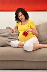 donna mamma maternità scarpette
