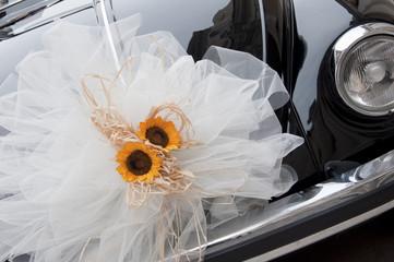 Auto nera per matrimonio