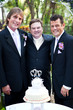 Gay Wedding Couple with Minister