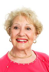Portrait of Lovely Senior Lady
