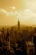 Fototapeten,new york city,skyscraper,anblick,sonne