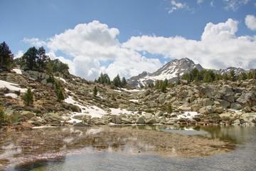 paysage de montagne en andorre